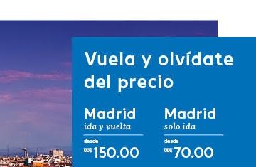 Air Europa presenta tarifa especial desde US$150.00 en la ruta Punta Cana – Madrid – Punta Cana