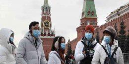Se eleva a 495 los afectados por covid-19 en Rusia.